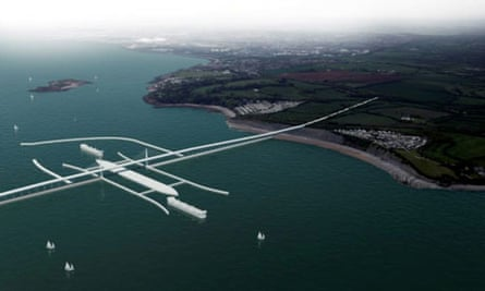 Severn estuary tidal dam project