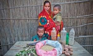 MDG : Bangladesh : cyclical hunger in Brahmaputra Islands