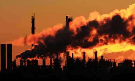 100 months to save the climate : Chemicals plant near Clinton, Iowa