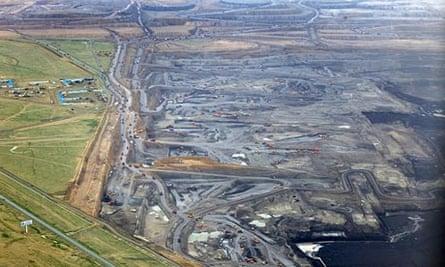 Opencast coal mine in Inner Mongolia, China
