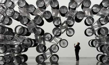 """Bike blog : """"Forever Bicycles"""" by Chinese dissident artist Ai Weiwei"""