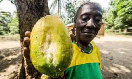 MDG : Sierra Leone : Small-scale farming