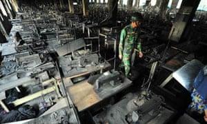 MDG : Bangladesh : Tazreen Fashion plant fire in Savar, Dhaka