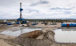 Fracking waste water  in Wyoming : toxic waste