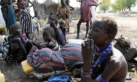 MDG : Internally displaced Murle people in Pibor county, South Sudan