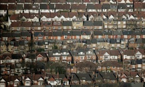 Green Deal : Residential streets of terraced houses with small back gardens