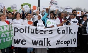 NGOs walk out at COP19 in Warsaw