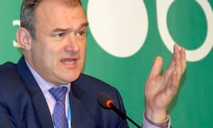 COP19 in Warsaw : UK Energy and Climate Change Secretary  Ed Davey