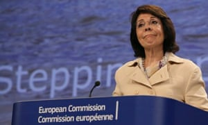 Maria Damanaki, Commissioner for Maritime Affairs and Fisheries on illegal fishing worldwide
