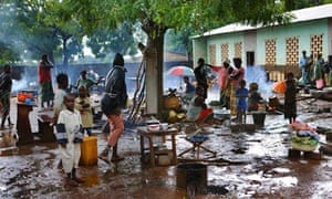 MDG : CAR : Central African Republic refugees