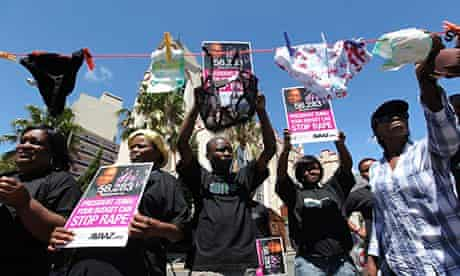 MDG : South Africans call upon President Jacob Zuma to tackle the country's rape epidemic