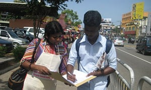 MDG : Domestic workers petition in Sri Lanka