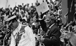 Kenya at 50 :  Jomo Kenyatta on Independence day