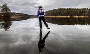 Extreme weather 2013 : Warm winter in Sweden