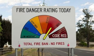 Extreme Weather in 2013 : Total Fire Ban announced in Australian state of Victoria