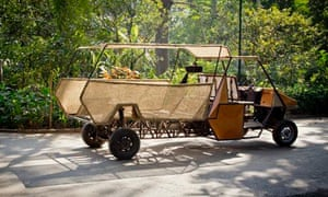 MDG : Innovation : A safe rural utility vehicle (RUV) from EVOMO, India