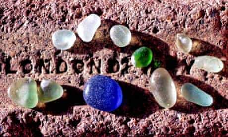 Country Diary : Seaham sea glass - jewels from a long-lost industry