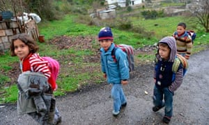 MDG Displaced Syrian children