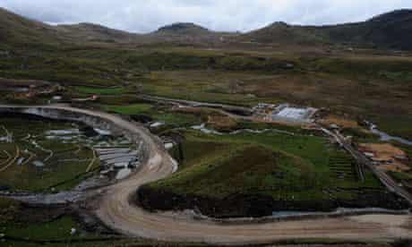 MDG: Conga mine in Cajamarca