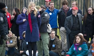 Daryl Hannah is handcuffed and arrested during the Keystone XL Pipeline Protest