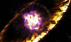 Supernova Shock Wave