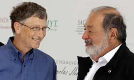MDG Bill Gates and Carlos Slim