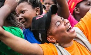 MDG One Billion Rising rally in Congo DRC