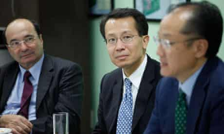 MDG : Executive President and CEO of IFC Jim-Yong Cai