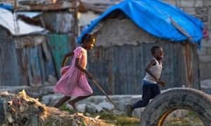 MDG children in Port-au-Prince