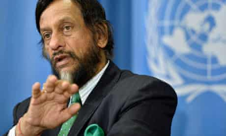 IPCC chairman Rajendra Kumar Pachauri