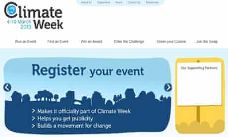 Climate week front page after they had withdrawn EDF ad