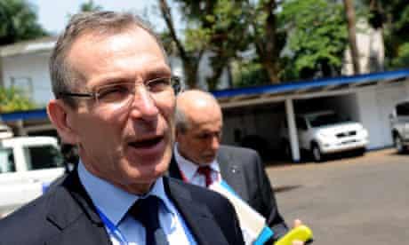 MDG : EU Development budget : Andris Piebalgs at UN panel on post-2015 development agenda, Monrovia