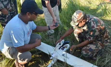 Drone to fight illegal wildlife trade and poaching : wwf in Nepal park