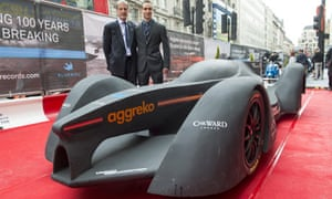 Bluebird GTL Formula E concept racing car