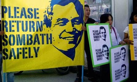 Laos Environment Activist Sombath Somphone Remains Missing