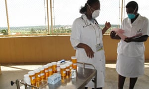 MDG : Tuberculosis in Mozambique : multi-drug resistant TB ward