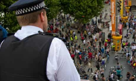 More than 100 cyclists arrested during Critical Mass Olympic Lane protest