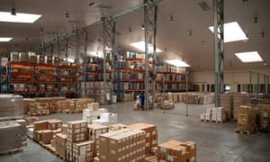 MDG Mozambique drug warehouse