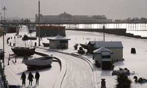 UK Spring Weather : Snow Hits The UK