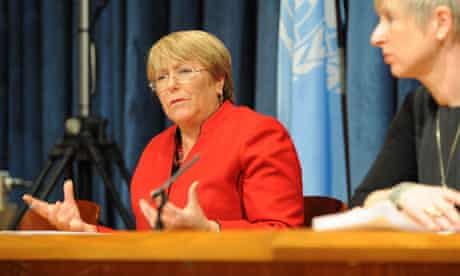 MDG : UN Women Executive Director Michelle Bachelet  at CSW57
