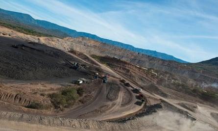 Anglo American PLC : Opencast coal mine in Cerrejon, Colombia, (BHP Billiton and Xstrata)