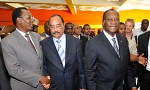 MDG African leaders