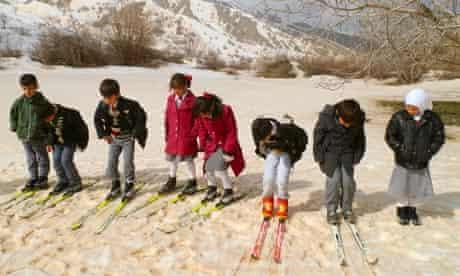 MDG Skiing in Kurdistan