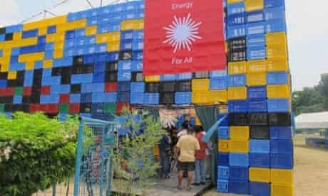 The Solar Revolution Pavilion in Manilla, Philippines