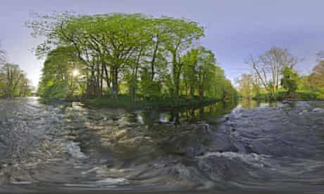 Mike McFarlane panoramic landscapes of UK for The Wildlife Trusts