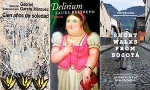 MDG :  best books on Colombia : Gabriel Garcia Marquez, Laura Restrepo and Tom Feiling