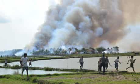 Burma blog on oil : Myanmar state of Rakhine campaign of ethnic cleansing against  Rohingya Muslim
