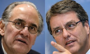 MDG : WTO final candidates : Roberto Azevedo and  Herminio Blanco