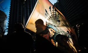 Canada blog about Aboriginal rights : First Nations protesters in Idle No More demonstration Toronto