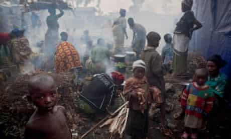 MDG : IDP in Goma, Democratic Republic of Congo